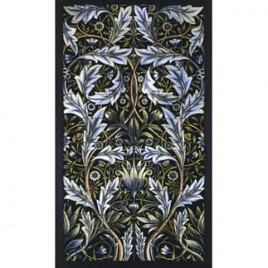 William Morris tile panel