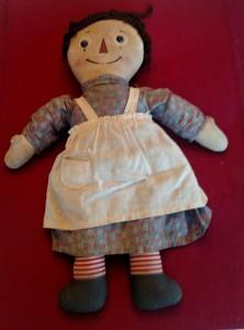 1920s raggedy ann doll