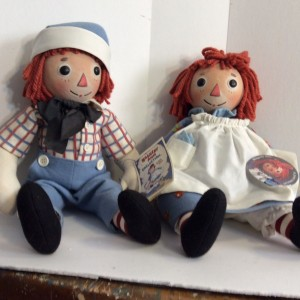 R John Wright Raggedy Ann and Andy