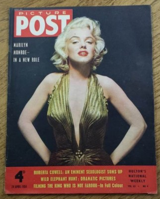 marilyn monroe picture post