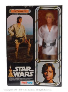 Palitoy Star Wars 12 Luke Skywalker Figure