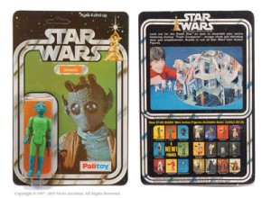 Palitoy Star Wars Greedo 3 34 Vintage Figure