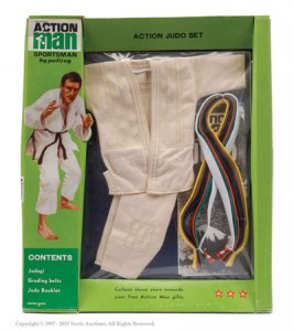 Palitoy Action Man Carded Sportsman Judo Set No. 34805