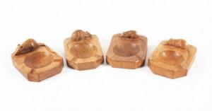 mouseman ashtrays