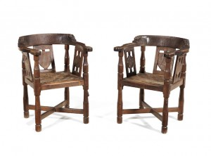 mouseman monks chairs