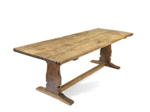 robert mouseman thompson refectory table c1935