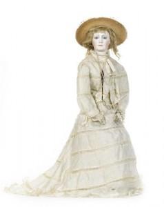 Pierre Francois portrait Jumeau bisque shoulder head fashion doll