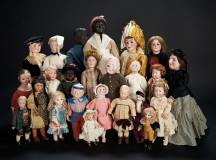 The Billie and Paige Welker Collection of Dolls