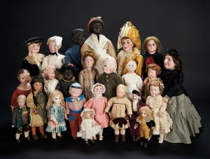 Rare French Bébés German Characters and American Folk Dolls