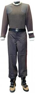 Star Trek The Final Frontier Captain Kirk Uniform
