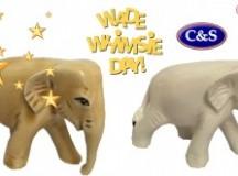 Wade International Whimsie Day White Elephant