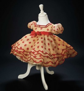 shirley temple polka dot dress stand up and cheer