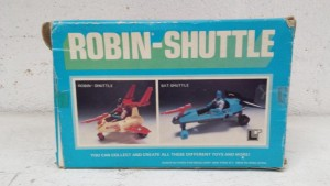 Mego Robin-Shuttle Reverse of Box