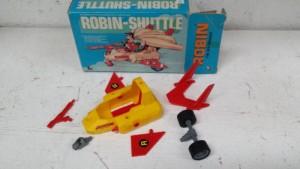 Mego Robin-Shuttle Vehicle Contents