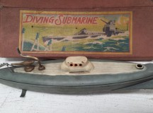 1930s Kuramochi CK Diving Submarine in box