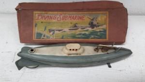 1930s Kuramochi CK Diving Submarine in box