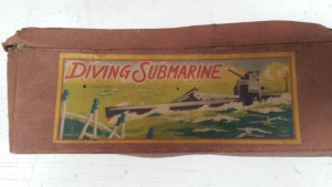 Box for 1930s Kuramochi CK Diving Submarine