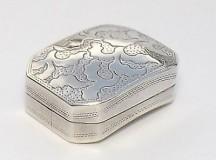 Samuel Pemberton Silver VinaigretteBirmingham 1807 Estimate £150-£250