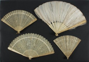 Chinese late 18th early 19th century brisé fans