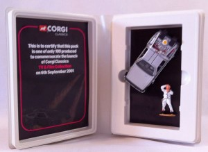 "2001 Corgi Limited Edition of 100 ""Back To The Future"" - Delorean Finished In Silver"