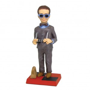 Brains 'Alias Mr Hackenbacker' Thunderbirds Figurine Limited Edition 250