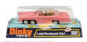 Dinky No 100 Thunderbirds Lady Penelopes FAB1