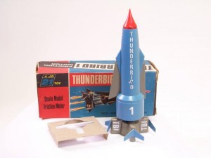 "Century 21 Toys ""Thunderbirds"" - Thunderbird 1 Sold for £195 at ebay, Aug 2015."
