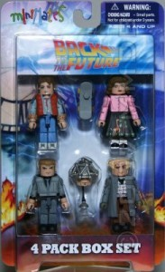 Back to the Future 1 Minimates