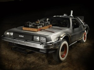 back to the future de lorean