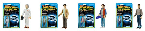 back to the future reaction figures