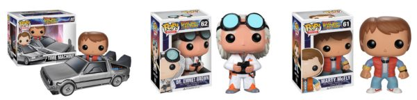 Funko POP! Back to the Future figures