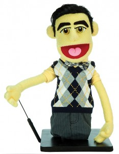 glee Blaine screen used puppet