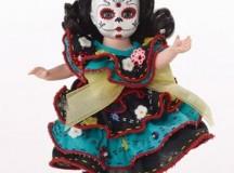 Madame Alexander Dia De Los Muertos heads Halloween Editions