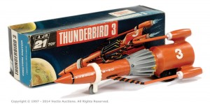 "Century 21 Toys ""Thunderbirds"" - Thunderbird 3 Sold for £70 at Vectis, July 2014."