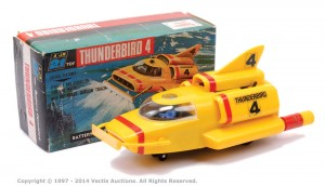 "Century 21 Toys ""Thunderbirds"" - Thunderbird 4 Sold for £130 at Vectis, Feb 2014."