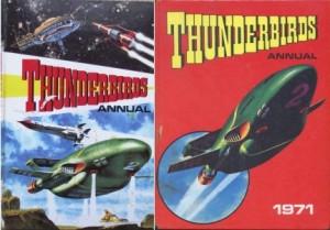 thunderbirds annuals 1966 1971
