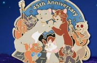 The Aristocats 45th Anniversay Pin