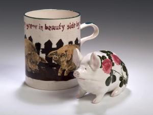 A Wemyss mug attributed Karel Nekola