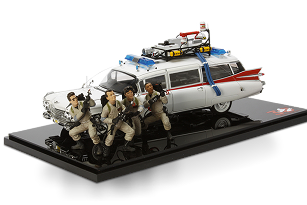 GHOSTBUSTERS ECTO-1 hotwheels elite