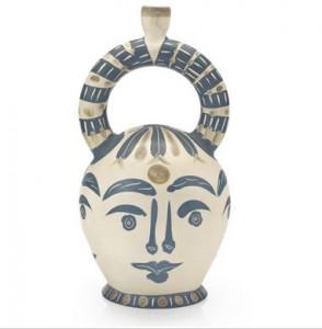 Vase aztèque aux quatre visages (A.R. 402)