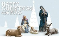 Nao Nativity for Christmas