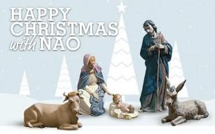 Nao Nativity for Christmas