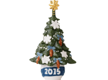 The 2015 Royal Copenhagen Christmas Tree