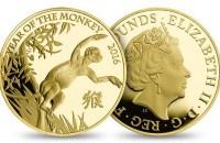 Royal Mint Shēngxiào Collection featuring Year of the Monkey