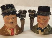 Royal Doulton Laurel and Hardy Character Jugs