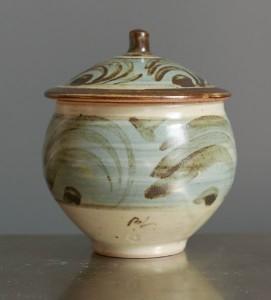 Bernard Leach preserve pot c1960s