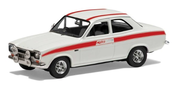 Corgi Diamond White Ford Escort Mk1 Mexico