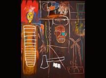 Jean-Michel Basquiat, Air Power, 1984