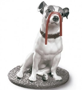 Lladro JACK RUSSELL WITH LICORICE