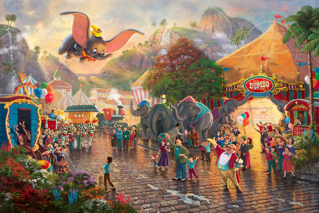 dumbo thomas kinkade